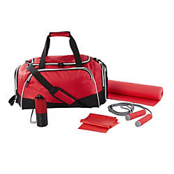 GNBI 5 Piece Fitness Set Red