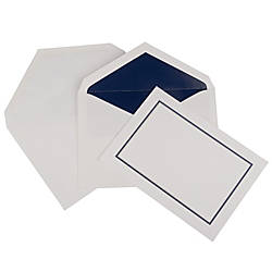 JAM Paper Large Stationery Set Navy