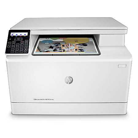 HP LaserJet Pro M180nw All-in-One Wireless Color Laser Printer, T6B74A