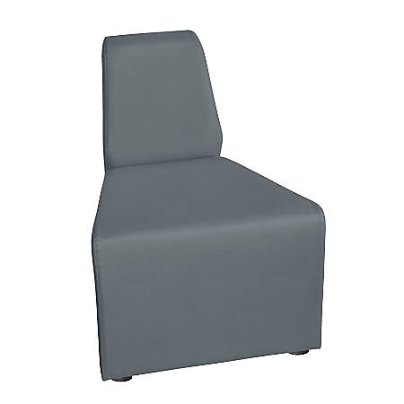 "Marco Outer Wedge Chair, 29.5""H, Graphite"