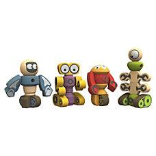 BeginAgain Toys Tinker Totter Robots Playset