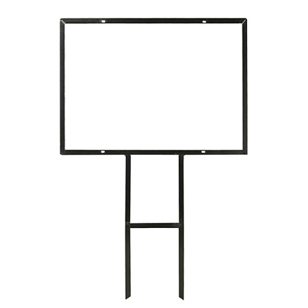 Angle Iron Sign Frame No Insert 20 x 28 by Office Depot & OfficeMax