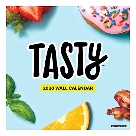 From the internet's favorite kitchen straight to your home, Tasty™ brings together the best comfort food, simple snack hacks, and decadent desserts in one 18-month calendar.