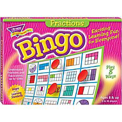Trend Fractions Bingo Game