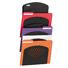 Safco Steel 7 Pocket Wall Rack