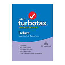 TurboTax 2019 Deluxe Federal EFile Download