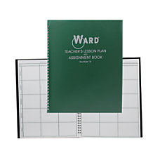 Ward 6 Period Teacher Plan Books