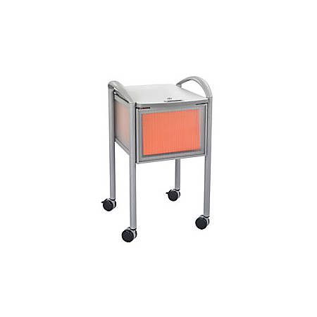 """Safco® Impromptu Locking File Cart, 29 1/2""""H x 18""""W x 21 1/4""""D"""
