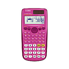 Casio Scientific Calculator Pink FX300ESPLUS PK