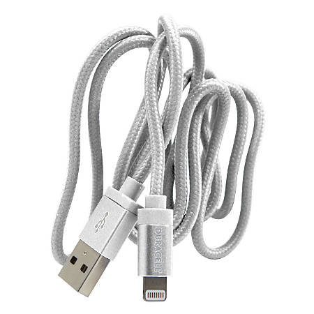 Duracell® Sync & Charge Lightning Cable, 3', White