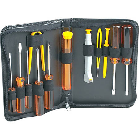 Manhattan 13 Piece Computer Tool Kit - Ideal for all types of peripheral  and component installation, routine computer maintenance and general repair