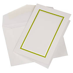 JAM Paper Small Stationery Set Lime