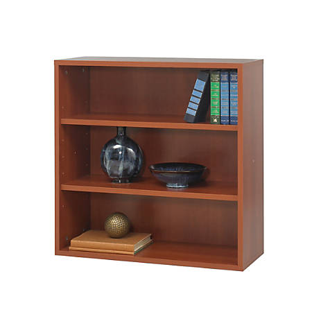 Safco® Apres™ Modular Storage Open Bookcase, Cherry
