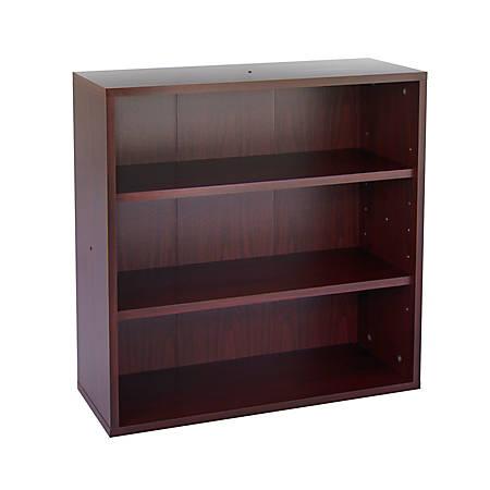 Safco® Apres™ Modular Storage Open Bookcase, Mahogany
