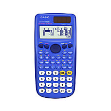 Casio Scientific Calculator Blue FX300ESPLUS BU