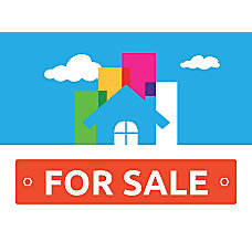 Customizable Yard Sign For Sale House