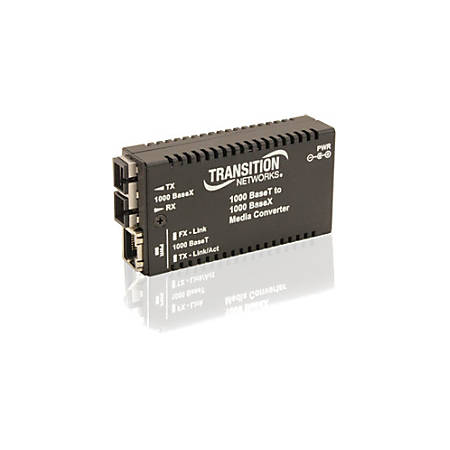 Transition Networks Mini Gigabit Ethernet Media Converter