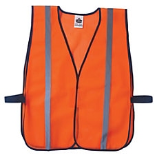 8020HL Orange Non Certified Standard Vest