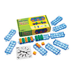 Didax Ten Frame Trains Activity Set