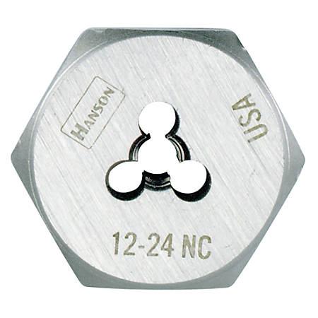 """IRWIN High-Carbon Steel Hexagon Die, 3/4"""" Thread Size"""