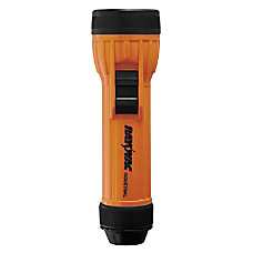 Rayovac Safety D Cell Flashlight BlackOrange