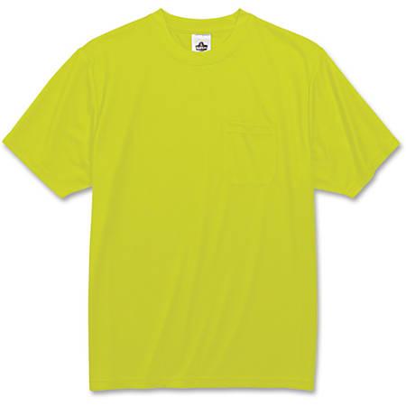 Ergodyne GloWear 8089 Non-Certified T-Shirt, 2X, Lime