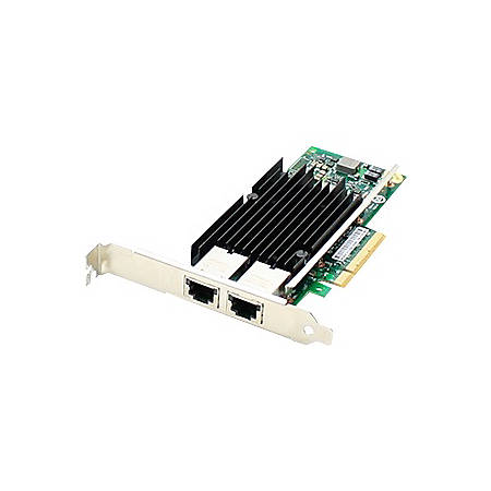 AddOn QLogic QLE3242-RJ-CK Comparable 10Gbs Dual Open RJ-45 Port 100m PCIe x8 Network Interface Card
