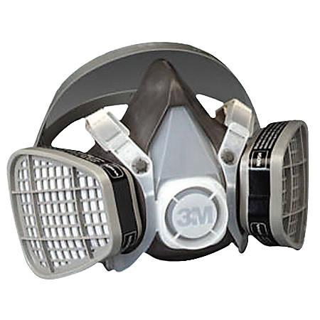 5000 Series Half Facepiece Respirators, Large, Organic Vapors