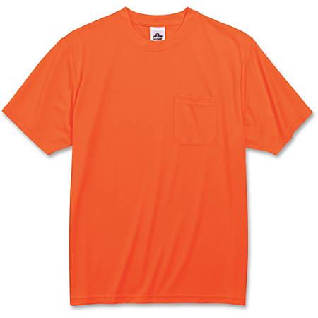 Ergodyne GloWear 8089 Non-Certified T-Shirt, 2X, Orange