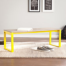 Holly Martin Beckett Bench OakCitrine