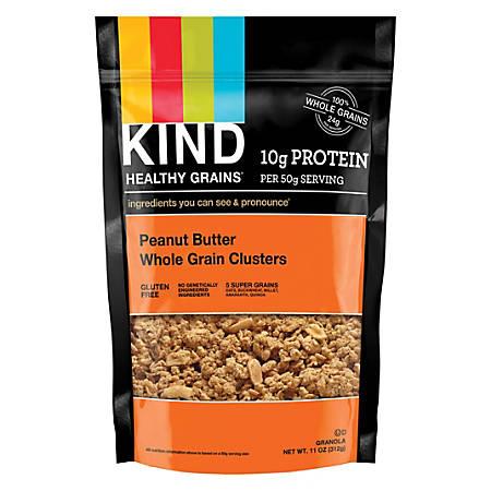 KIND Healthy Grains Peanut Butter Clusters, 11 Oz