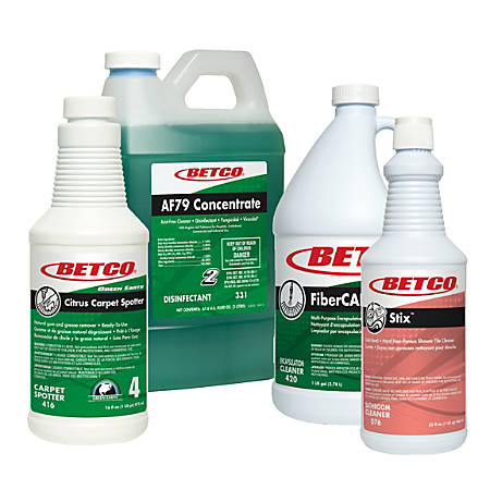 Betco® Restroom And Carpet Cleaning Kit, 409.28 Oz, Case Of 4