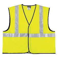 Class 2 Safety Vest Fluorescent Lime