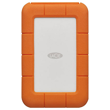 LaCie Rugged SECURE STFR2000403 2 TB Hard Drive - External - Portable