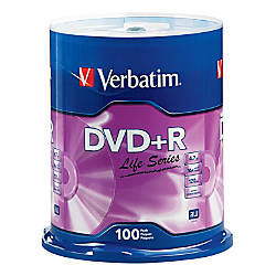 Verbatim Life Series DVDR Spindle Pack