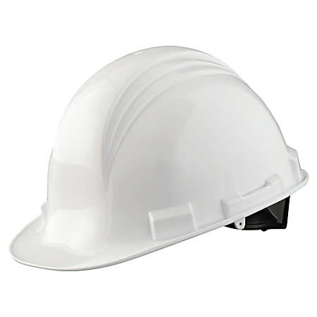 North Peak A79 HDPE Shell Hard Hat, One Size, White