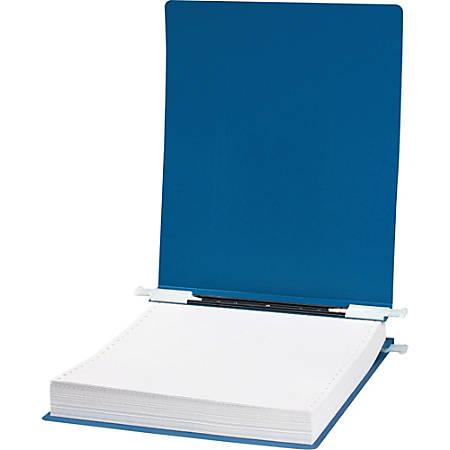 "Wilson Jones® Presstex® Pressboard Data Binder, 9 1/2"" x 11"", 60% Recycled, Blue"