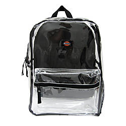Dickies Deluxe Clear PVC Backpack With