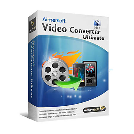 Aimersoft Video Converter Ultimate for Mac, Download Version