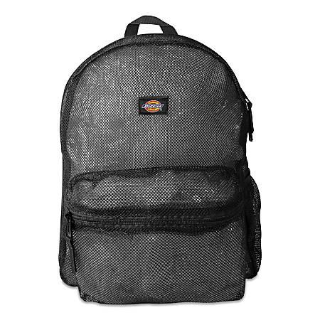 Dickies® Mesh Laptop Backpack, Black