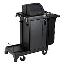 Suncast Commercial Plastic Cart High Security