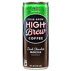 High Brew Dark Chocolate Mocha Cold