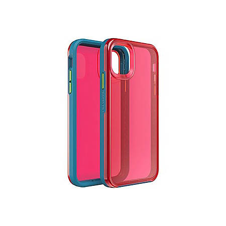 """LifeProof Slam Case for iPhone 11 - For Apple iPhone 11 Smartphone - Riot (Pink/Yellow) - Drop Proof - 79.20"""" Drop Height"""