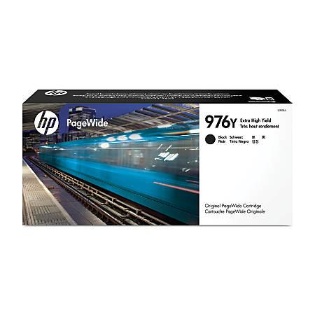 HP 976Y Black Extra-High Yield Ink Cartridge (L0R08A)