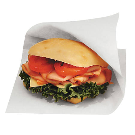 "Bagcraft Dubl Open® Grease-Resistant Sandwich Bags, 6 1/2""H x 6""W x 3/4""D, White, Carton Of 8,000 Bags"