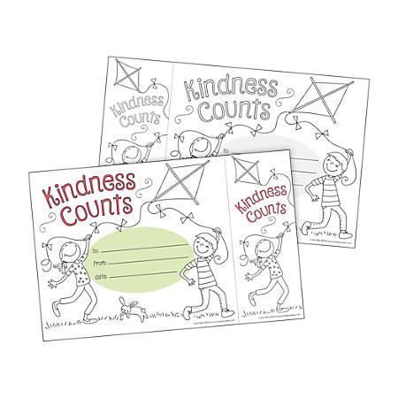 Barker Creek Color Me! Awards And Bookmarks Set, Kindness Counts