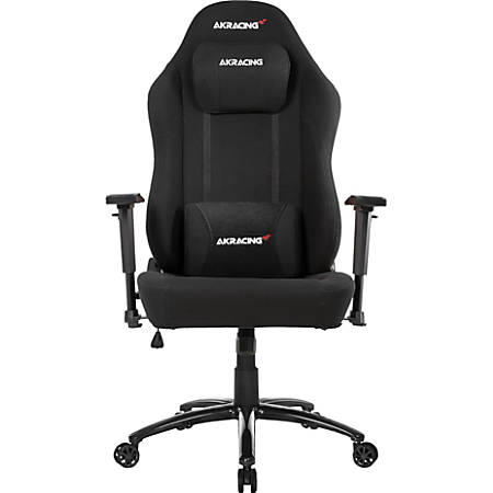 AKRacing™ Office Series Opal Ergonomic Fabric Computer Chair, Black