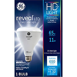 GE Lighting Reveal HD BR30 Dimmable