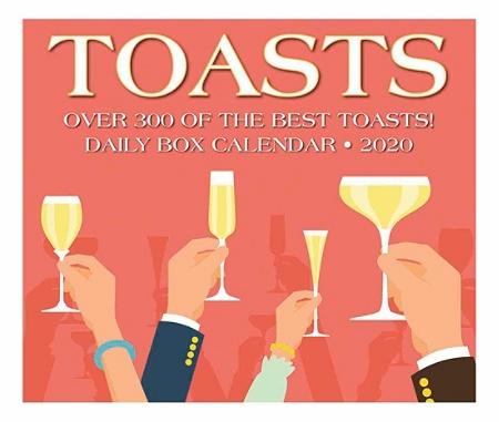 Best Box Wine 2020 Willow Creek Calendar Toasts 2020 08973   Office Depot
