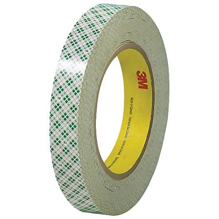 """3M™ 410 Double-Sided Masking Tape, 3"""" Core, 0.75"""" x 108', Off-White, Case Of 3"""